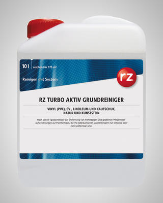 RZ Turbo Aktiv Grundreiniger 10 l
