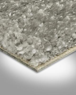 Teppich Langflor in der Gr/ö/ße 100x400 cm gem/ütliche Teppichfliesen zugeschnittener Bodenbelag weiche /& strapazierf/ähige Auslegeware Teppichboden Velours Kurzflor in Anthrazit