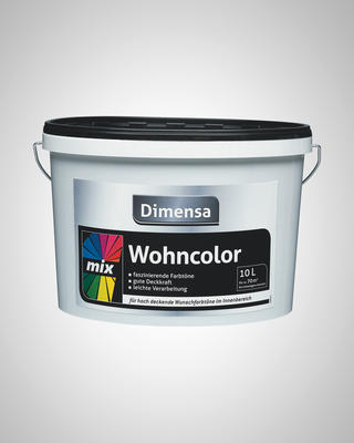 DIMENSA WOHNCOLOR MIX BASE 2  10 L