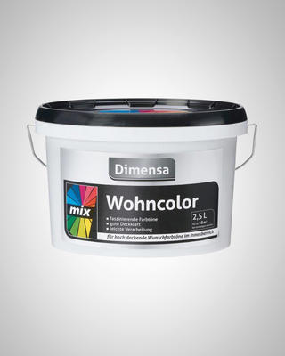 DIMENSA WOHNCOLOR MIX BASE 2  2,5 L