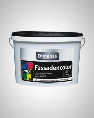 DIMENSA FASSADENCOLOR MIX BASE 2  10 L