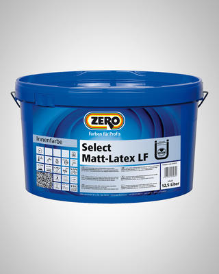 ZERO Select Matt-Latex LF 12,5 l