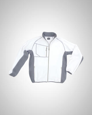 Excess CHAMP WHITE Fleecejacke Gr.M
