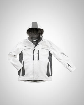 Excess CHAMP WHITE Softshell Winterjacke Gr.S