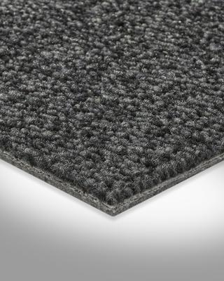 Muster zugeschnittener Bodenbelag Schlingen-Teppichboden in der Farbe Hellbraun gem/ütliche Teppichfliesen weiche /& strapazierf/ähige Auslegeware