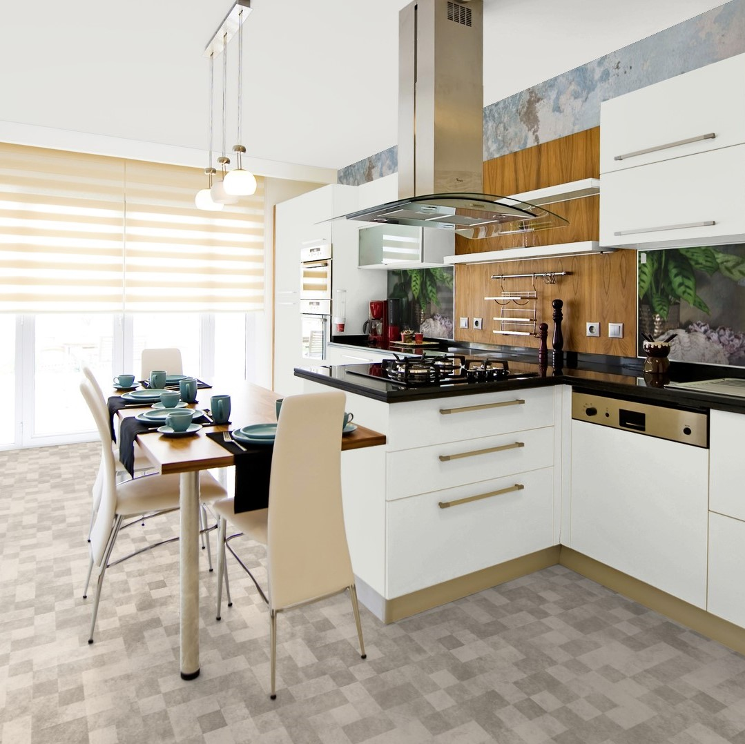 Vinylboden PVC Bodenbelag 2m 3m 4m breit Steinoptik Meterware 12,95€//qm